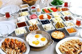 Nokta Tesislerinde Muhteşem Kahvaltı Keyfi !!!